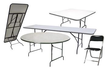 Renta de Mesas